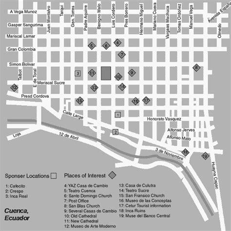 printable map quito cuenca map printable ecuador explorer