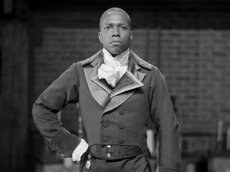 aaron burr being aaron burr leslie odom jr s star making year in