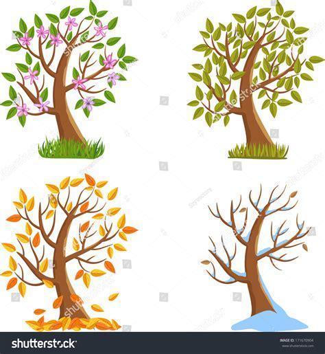autumn season fall tree stock illustration i2767767 at featurepics summer autumn winter season tree stock vector 171670904