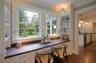 House Remodel by Built Ins Traditional Home Office Portland By