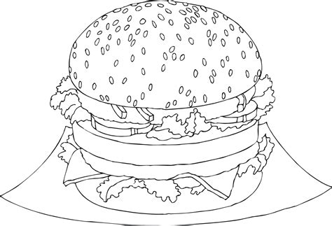 pages cheese sandwich coloring pages