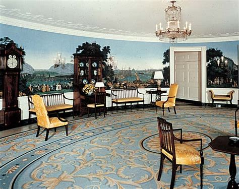 white house diplomatic room white house presidential office and residence washington district of columbia united states