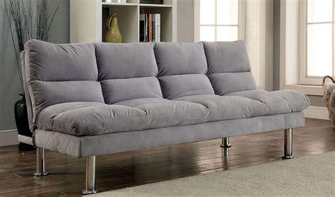 furniture of america sofa reviews saratoga futon sofa gray furniture of america 1 reviews