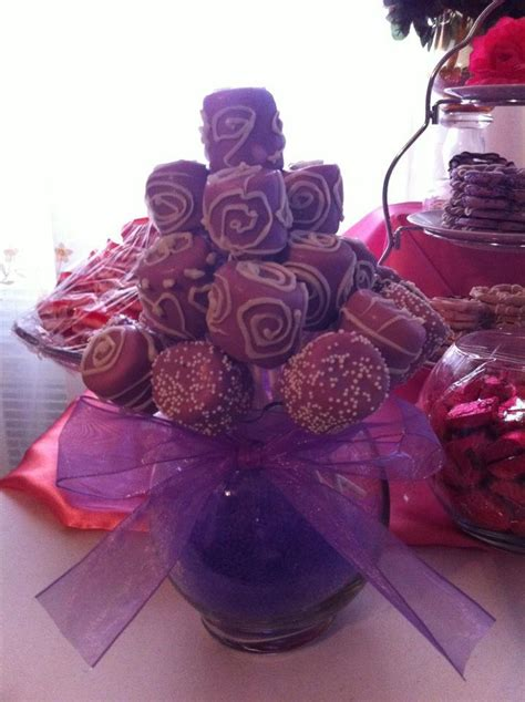 Christmas Centerpieces Pictures - 1000 images about marshmallow pops on pinterest marshmallow pops purple and bouquets