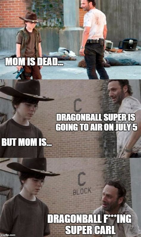 Super Mom Meme - rick and carl 3 meme imgflip