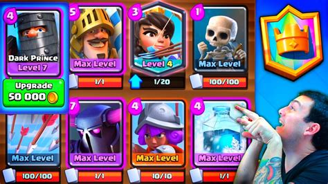 clash royale top 100 pekka prince deck
