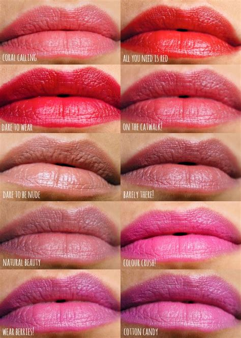 Lipstik Longlasting essence lasting lipstick lip swatches lipsticks lasting lipstick