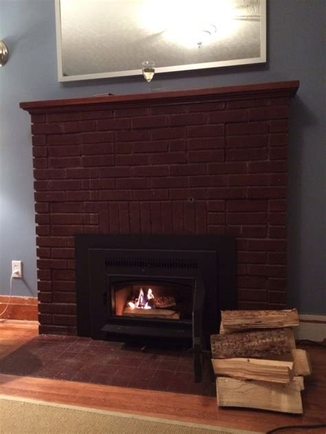 what to do with wood trim and or fireplace
