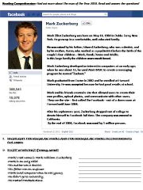 mark zuckerberg biography free download esl english powerpoints mark zuckerberg biography