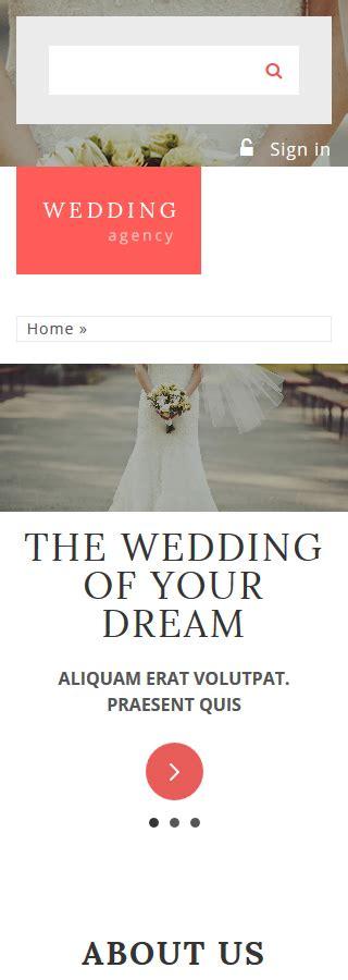 drupal themes wedding wedding agency drupal template smartphone layout 2