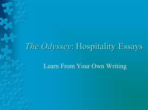 theme essay on the odyssey the odyssey hospitality essays ppt download