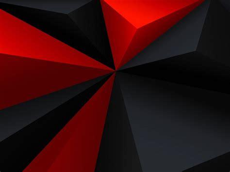 imagenes en 3d rojo y azul descargar 1024x768 rojo negro pol 237 gonos 3d fondo de pantalla
