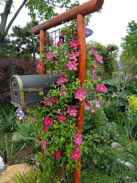 Mailbox Garden Ideas Mailbox Garden Ideas How To Create Curb Appeal With A Mailbox