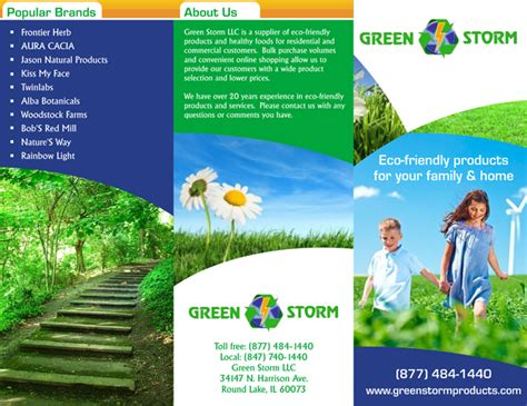 advertisement brochure get business from local market with custom brochures