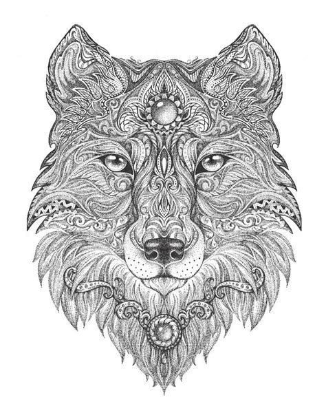 coloring books for wolves more advanced animal coloring pages for teenagers tweens boys zendoodle animals wolves practice for stress relief relaxation books wolf colouring page colouring in sheets