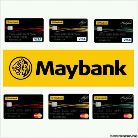 Credit Card Application Form Maybank How To Apply For A Maybank Credit Card Maybank Credit Card Application Assistance Philippines