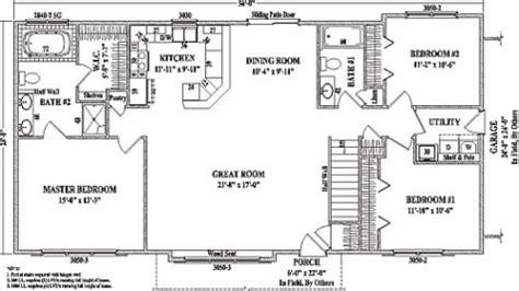 floor plans  small homescool open concept floor plans  ranch  open floor plans ranch
