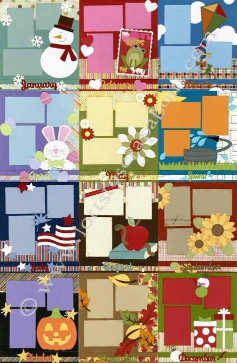 scrapbook layout guide best 25 simple scrapbooking layouts ideas on pinterest