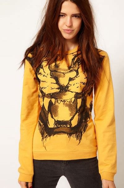 Tiger Print Pullover tiger print pullover 183 we are forever 183 fashion