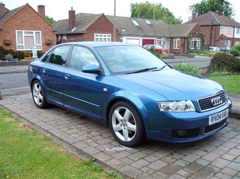 Audi A 4 2004 by 2004 Audi A4 Tdi 130 Sport Uk Surrey Front Corner Jpg Car