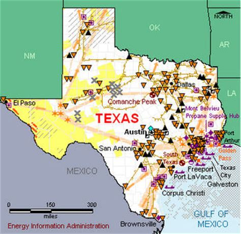texas resource map texas conservapedia