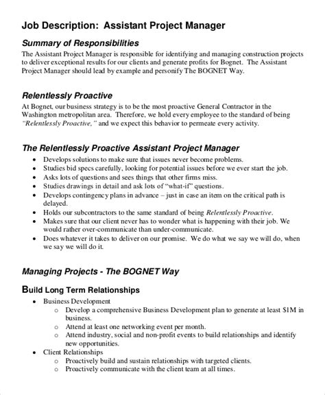 sle business manager description general manager resume cv exle description
