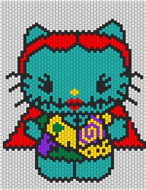 beaded hello pattern sally hello bead pattern peyote bead patterns