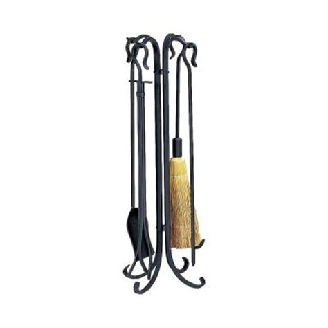 uniflame heavy weight black wrought iron 5 rustic