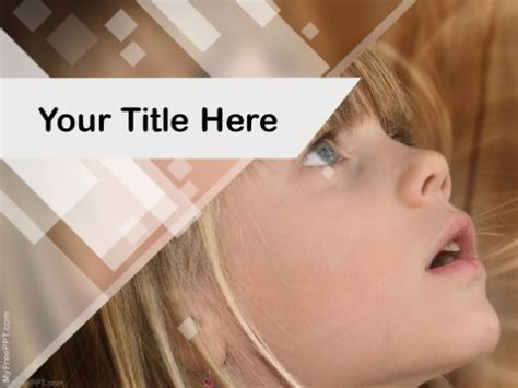 Free Kids Powerpoint Templates Themes Ppt Autism Powerpoint Template Free