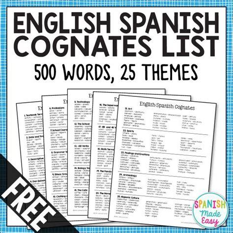 spanish spark charts spanish grammar by william maxey issuu best 25 cognates ideas on spanish cognates spanish english and learning spanish