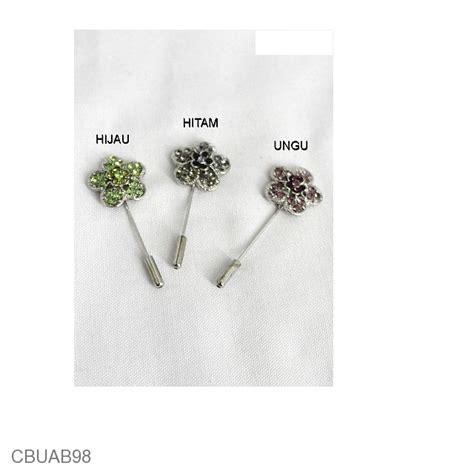 Tt204 Kalung Bros Etnik Kebaya Cantik Aksesoris Wanita Jilbab bross tuspin korea bunga bintang bross etnik murah
