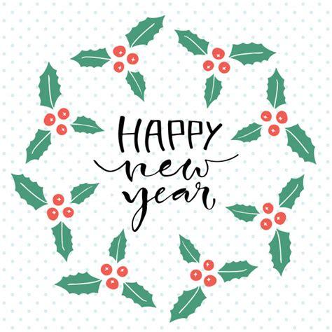 new year card design ai happy new year handwritten greeting card design
