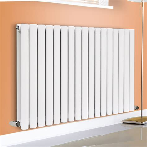 Modern Bathroom Radiators Horizontal Vertical Designer Oval Column Panel Bathroom Modern Radiators White Ebay