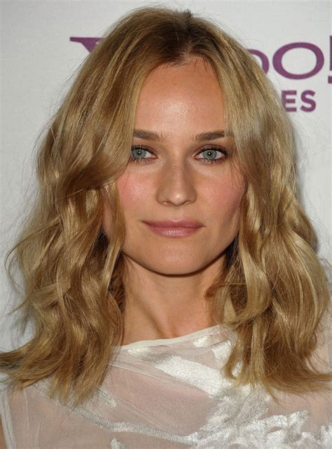 Soft Waves Hairstyles by Diane Kruger S Soft Waves Hairstyle