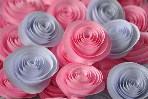 Handmade Paper Flowers Tutorial - handmade paper flowers tutorial 28 images cards crafts