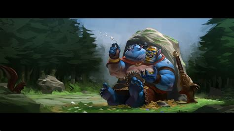 wallpaper dota 2 pack aggron stonebreaker the ogre magi free dota 2 wallpaper