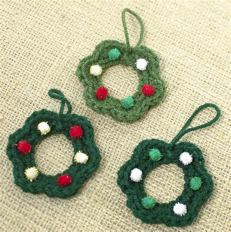 wreath crochet pattern petals to picots