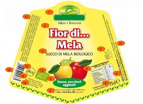 etichette alimenti le etichette alimentari