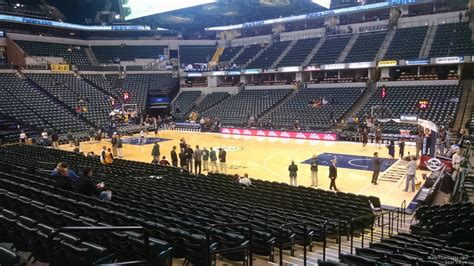 section 14 a bankers life fieldhouse section 14 indiana pacers