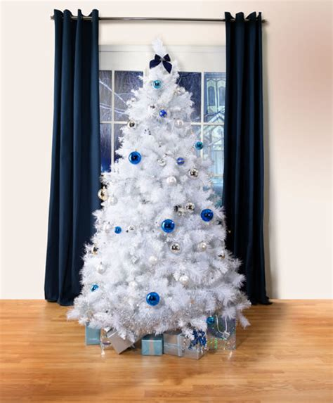 white scandinavian fur christmas tree artificial