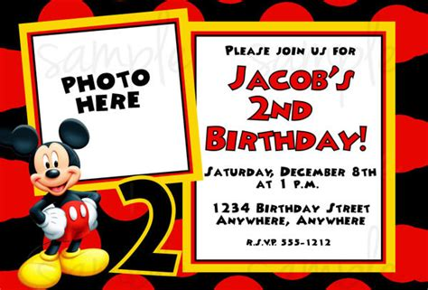 Mickey Mouse Invitation Templates 26 Free Psd Vector Eps Ai Format Download Free 2nd Birthday Invitations Templates Free