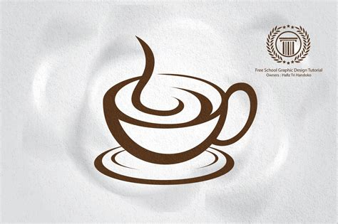 how to make designs on coffee how to make professional coffee cafe shop logo design in