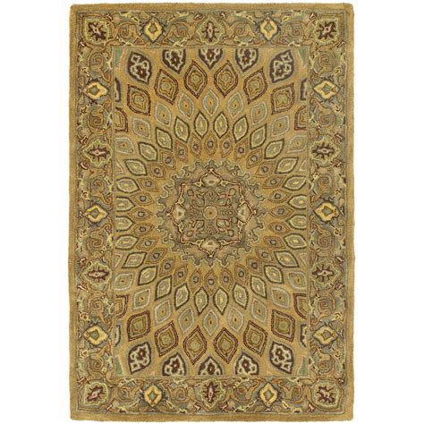 brown and gray area rug safavieh tufted heritage brown grey wool area rugs hg914a ebay