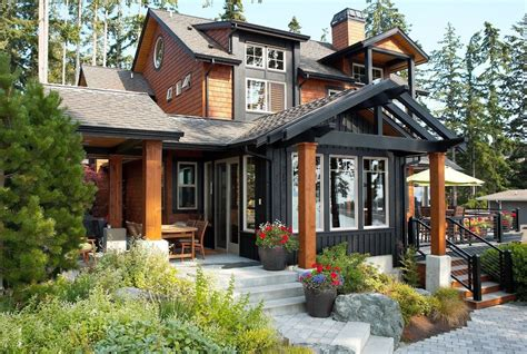iron gray hardie exterior traditional with james hardie
