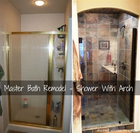 master bath remodel shower phase diy