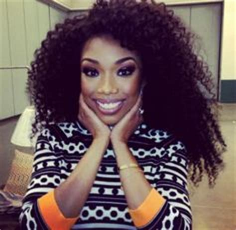 brandy loves natural hair but says as an actress she has natural hairstyles that i love on pinterest brandy