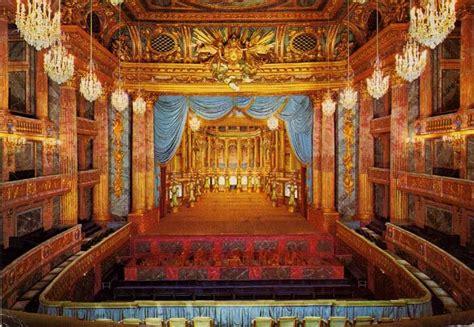 interior  opera de louis xv royal opera  versailles