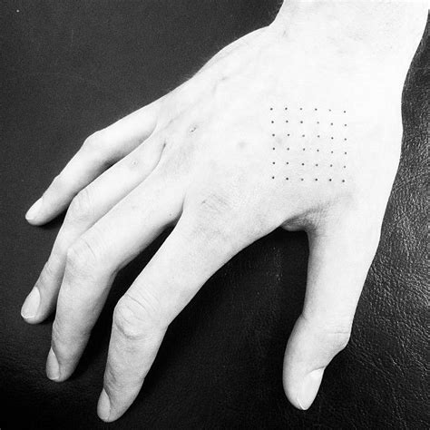 dot tattoo on hand 1000 images about dots tattoos on black work