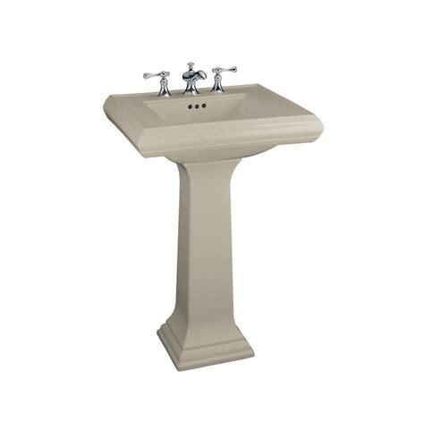 Kohler Pedastal Sink by Kohler Memoirs Ceramic Pedestal Combo Bathroom Sink In