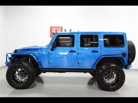 jeep rubicon blue 2015 jeep wrangler unlimited rubicon hardrock for sale in